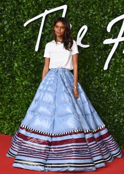 2019 1203 C CLS Fashion Awards 2019 ALiya Kebede in Moncler by Pierpaolo Piccioli