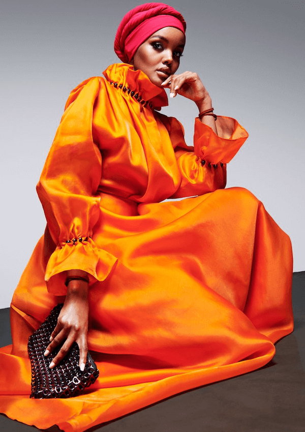 Supermodel Halima Aden Turns Heel On Runway, Honors Her Faith & Herself