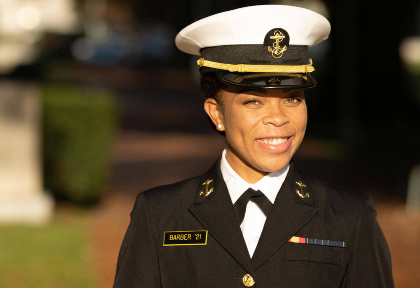 Meet Sydney Barber, US Naval Academy's 1st Black Woman Brigade Commander