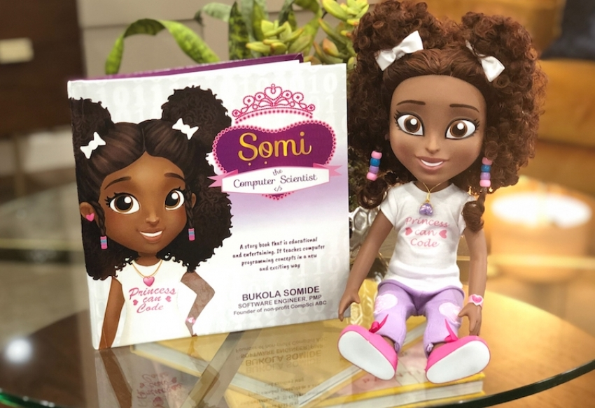 Bukola Somide Creates Somi, The 1st Computer Science Interactive Doll