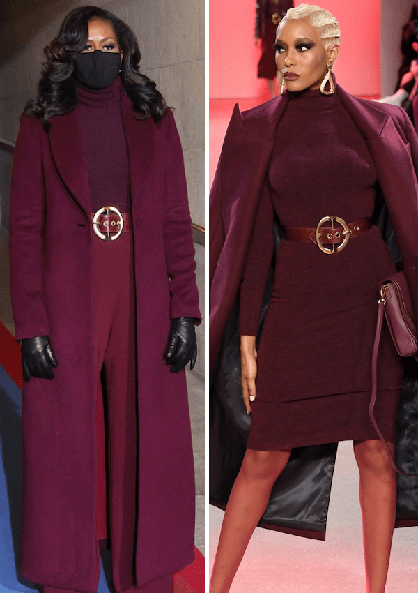 Sergio Hudson FW20: Epic Collection Draping Michelle Obama & Making History