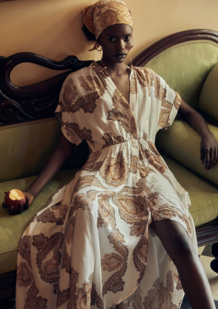 Ajier Manasseh Seeks 'The Hidden House' in Perfectly Boho Patterned Fashions