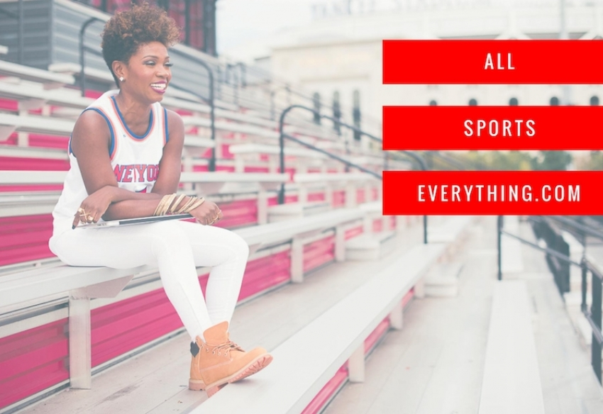 Shana Renee Takes Space While Taking Shots in All Sports Everything